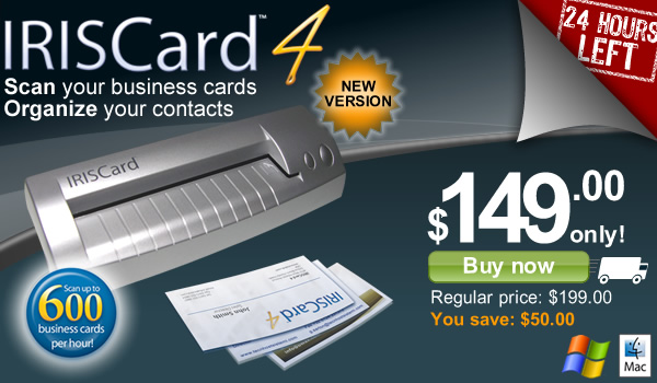 Iriscard pro 4 order today your iriscard pro 4 for only 149 reheart Choice Image