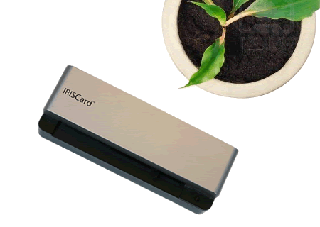 IRISCard Business Card Reader
