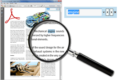 Create searchable PDF files