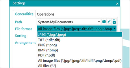 File all of your documents, whether they are electronic (PDF, JPEG, PNG, etc.) or paper!