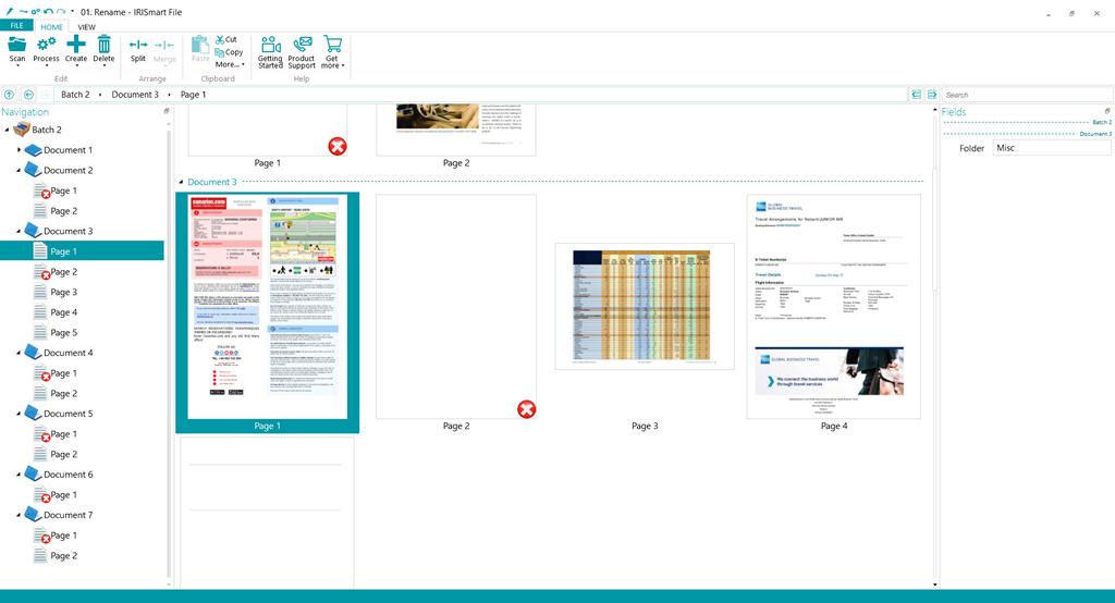 IRISmart File – Intelligent naming & classification software