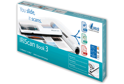 IRIScan Book 3 + FREE Readiris Corporate 16