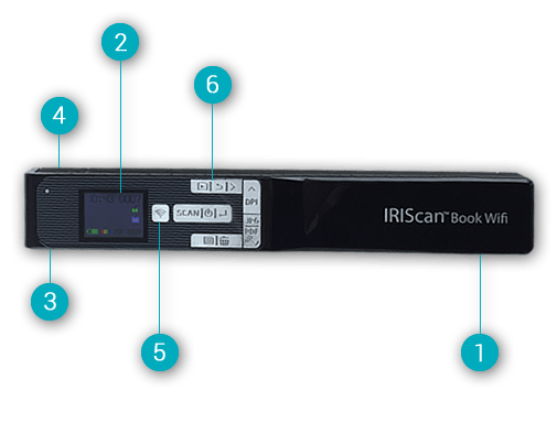 IRIScan Book 5 & IRIScan Book 5 Wifi - Book scanner