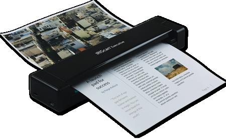Goede IRIScan Executive 4: Mobiler Duplex-Scanner UZ-34