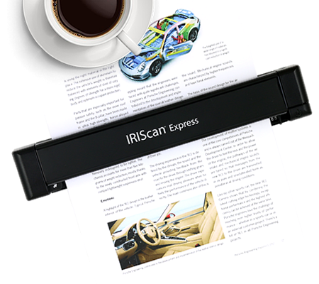 Iriscan Express 4 Mobiler Usb Scanner