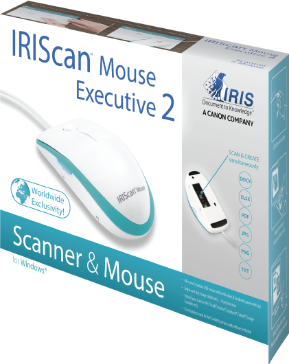 IRISScan mouse mobile Scanner
