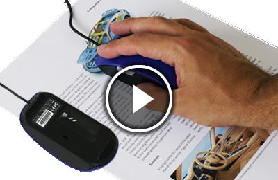logiciel iriscan mouse 2