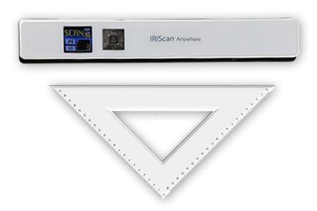 Iriscan anywhere 5 business card scanner small reliable reheart Images
