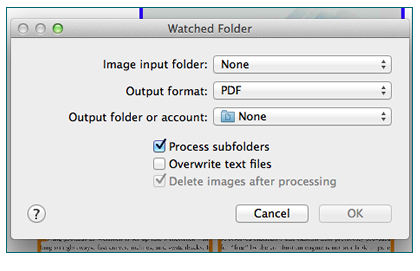 Use watched folders