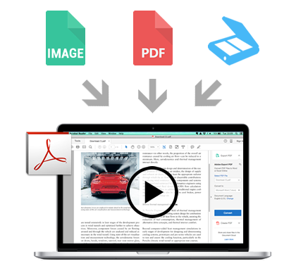 Convert documents to PDF documents