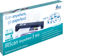 IRISCan Anywhere 3 WIFI Mobile A4 Scanner