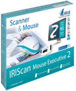 logiciel iriscan mouse executive 2