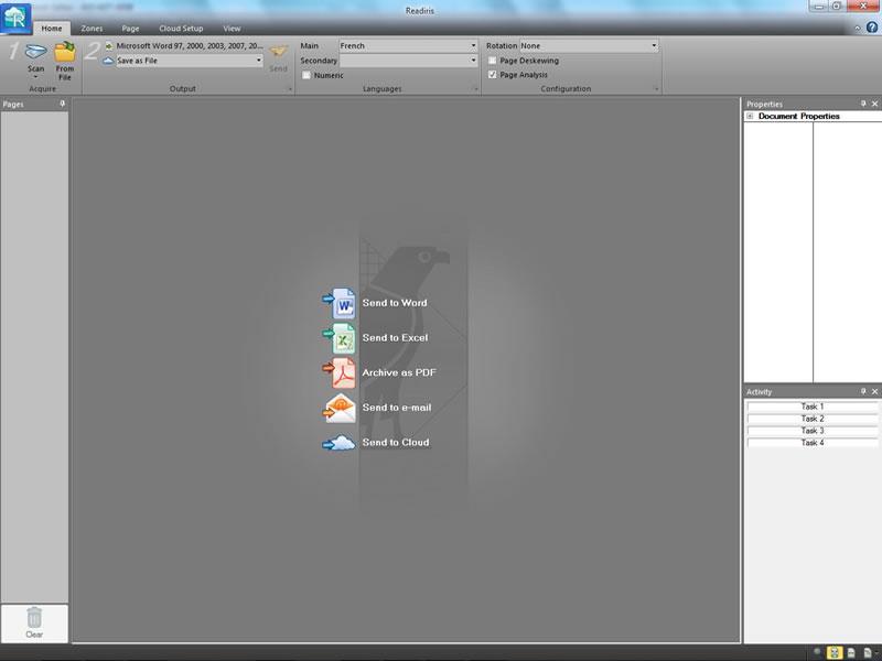 Readiris Pro 14 - OCR Software. Convert image, paper & PDF into editable fil
