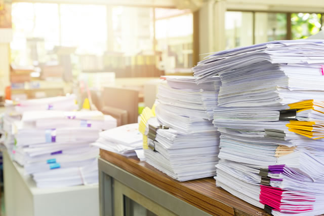 Immediate benefits of document classification